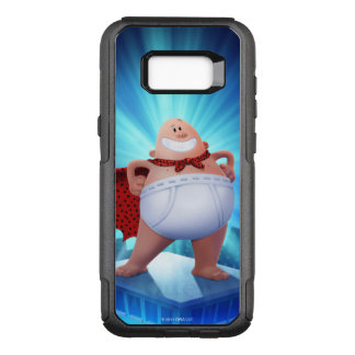 Captain Underpants | Waistband Warrior On Roof OtterBox Commuter Samsung Galaxy S8+ Case
