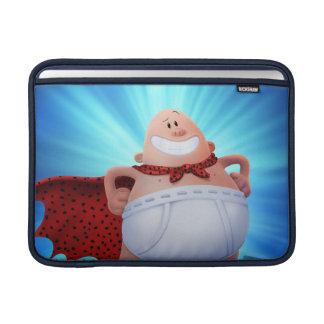 Captain Underpants   Waistband Warrior On Roof Sleeve For MacBook Air