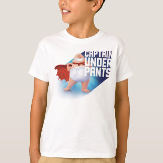 Captain Underpants | Waistband Warrior On Roof T-Shirt