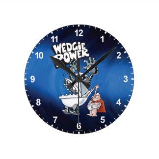 Captain Underpants   Wedgie Power Round Clock