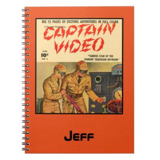 Captain Video Notebook