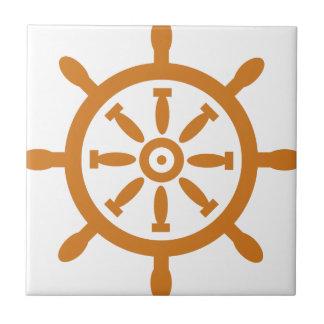 Captain Wheel Ceramic Tile
