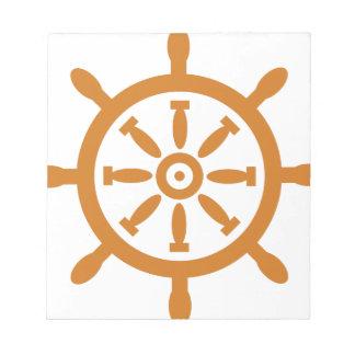 Captain Wheel Notepad