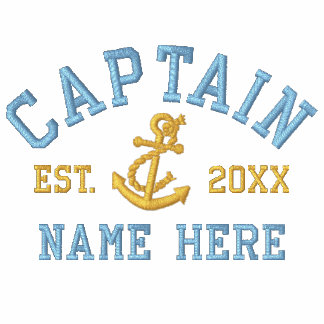 Captain - With Anchor customizable Polo