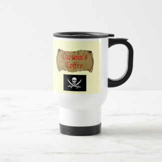 Captain's Coffee Travel Mug