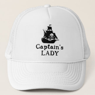 Captain's Lady Trucker Hat
