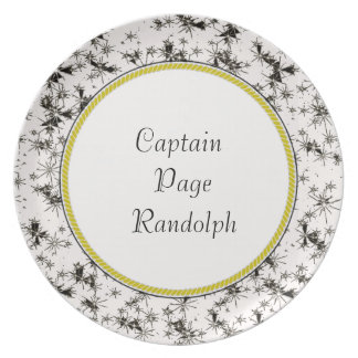 """Captain's-Plates (c)-TEMPLATE-Night-Sky*Pattern_ Plate"