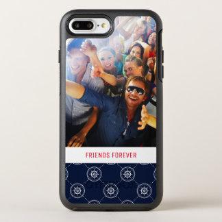 Captain'S Wheel Pattern | Your Photo & Text OtterBox Symmetry iPhone 7 Plus Case