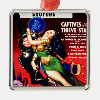 Captive of the Thieves Star Metal Ornament