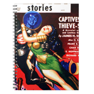 Captive of the Thieves Star Notebook
