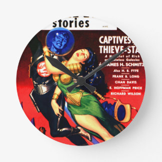Captive of the Thieves Star Round Clock