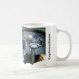 CAPTMOONBEAM Cessna Citation II Instrument Panel Basic White Mug