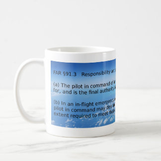CAPTMOONBEAM Pilot in Command Coffee Mug