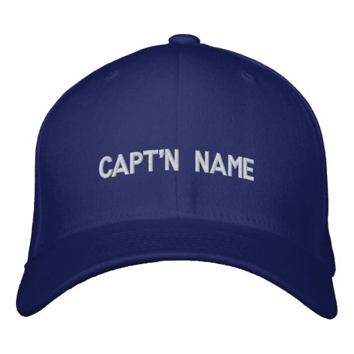 Capt'n Embroidered Hat