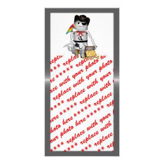 Capt'n Robo-x9 Photo Greeting Card