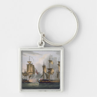 Capture of La Reunion, October 21st 1793, from 'Th Key Chains