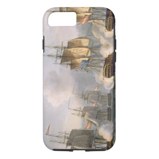 Capture of the Dorothea, July 15th 1798, engraved iPhone 7 Case
