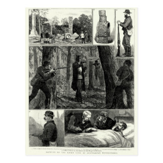 Capture of the Ned Kelly Gang Postcard