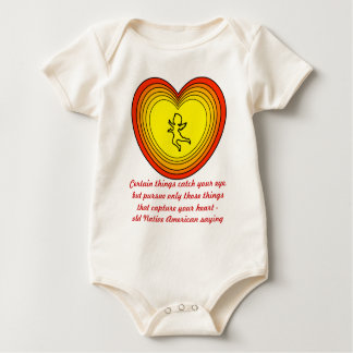 capture your heart infant onsie creeper