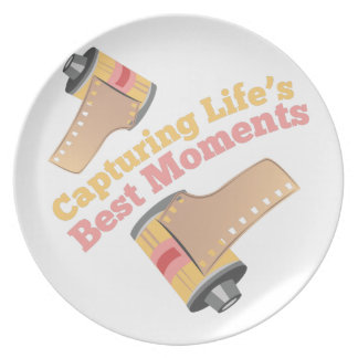 Capturing Moments Dinner Plate