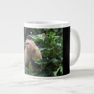 Capuchin Monkey, Panama, Jungle, Photography Large Coffee Mug