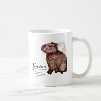 capybara - chocolate coffee mug