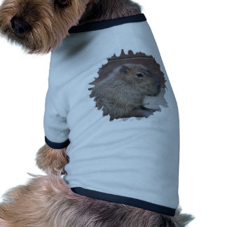 capybara, mask dog tee