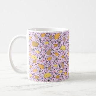 Capybara Mug, Pink Coffee Mug