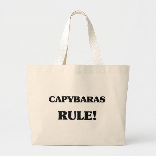 Capybaras Rule Bag