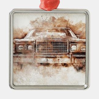 car-1640005_1920 Silver-Colored square decoration
