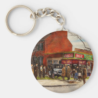 Car - Accident - Looking out for number one 1921 Key Ring