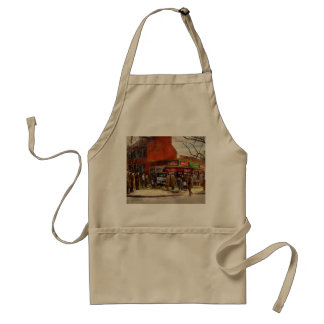 Car - Accident - Looking out for number one 1921 Standard Apron