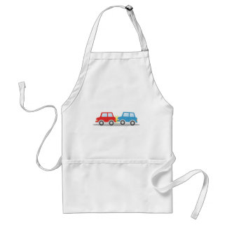 Car Accident Standard Apron