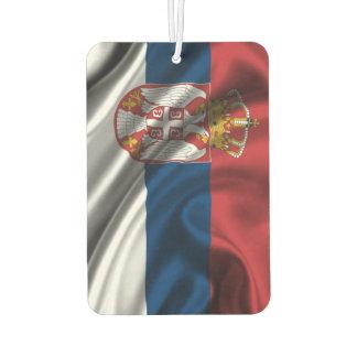 Car air freshener - Serbia flag