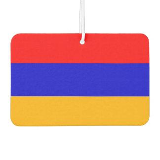 Car Air Fresheners with Flag of Armenia