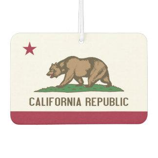 Car Air Fresheners with Flag of California, USA