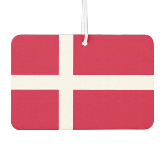 Car Air Fresheners with Flag of Denmark