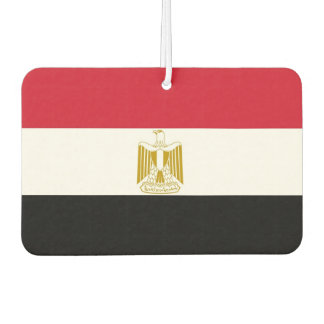 Car Air Fresheners with Flag of Egypt