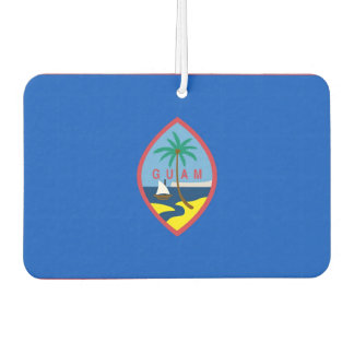 Car Air Fresheners with Flag of Guam, USA