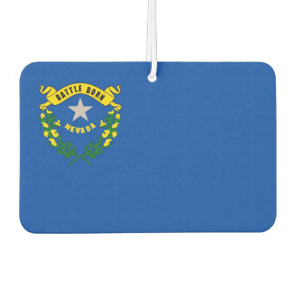 Car Air Fresheners with Flag of Nevada, USA