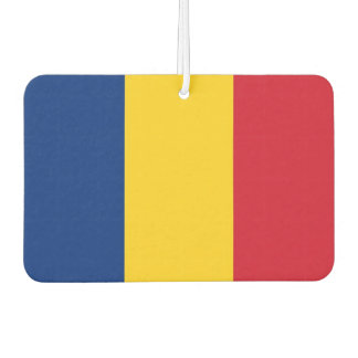 Car Air Fresheners with Flag of Romania