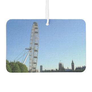Car Air Fresheners with London Eye