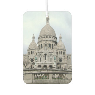 Car Air Fresheners with Sacre Coeur
