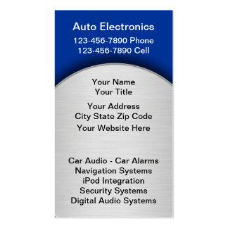 Car Audio Business Cards