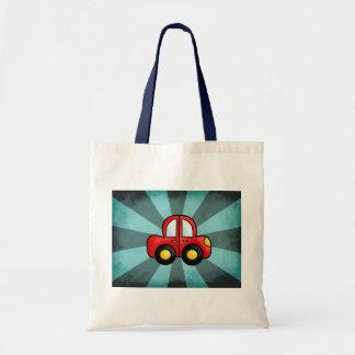 Car Cartoon Budget Tote Bag