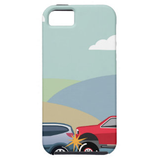 Car crash rear ended vehicle Vector Case For The iPhone 5
