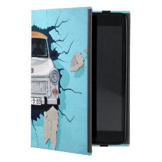 Car crosses a wall case for iPad mini