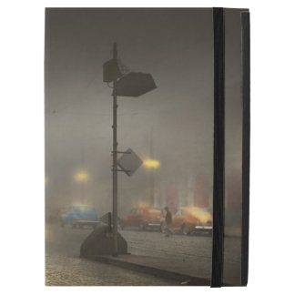 """Car - Down a lonely road 1940 iPad Pro 12.9"""" Case"""