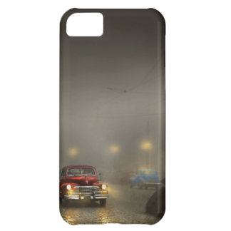Car - Down a lonely road 1940 iPhone 5C Case