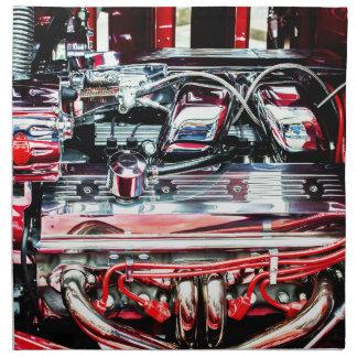 Car Engine Napkin